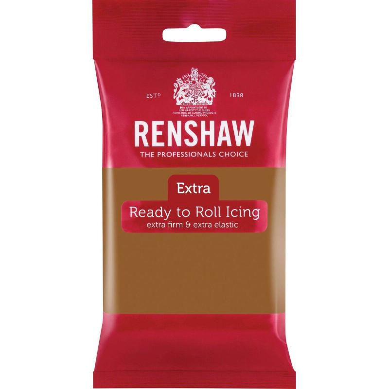 Renshaw EXTRA TEDDY BEAR Brown Sugar Paste 250g