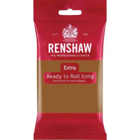 Renshaw EXTRA TEDDY BEAR Brown Sugar Paste 250g