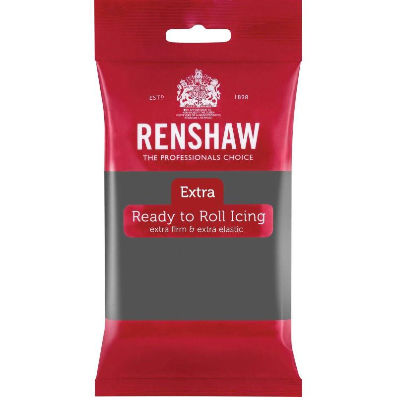 Renshaw EXTRA GREY Sugar Paste 250g