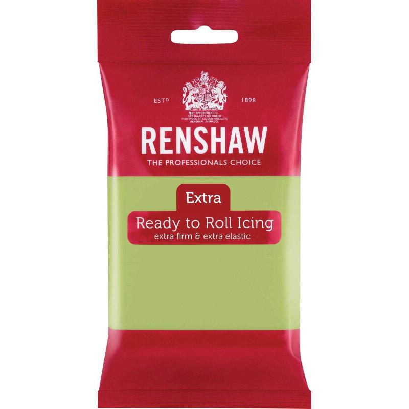 Renshaw EXTRA GREEN PASTEL Sugar Paste 250g