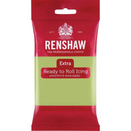 Renshaw EXTRA green PASTEL 250g sugar paste