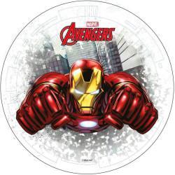 Disque azyme IRON MAN Avengers