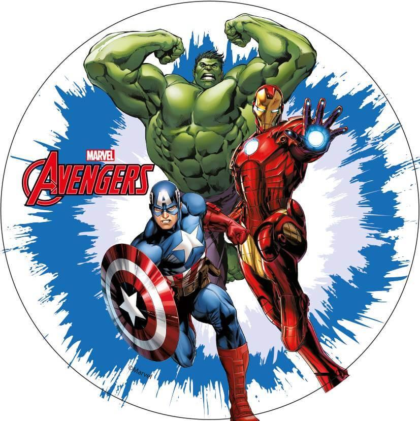 Decoration Gateau Iron Man