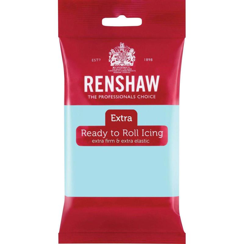 Pâte à sucre Renshaw EXTRA BLEU CANARD 250g