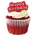 Set de 2 cortadores con expulsor Happy Birthday