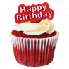 Set de 2 cortadores de pulsadores Happy Birthday