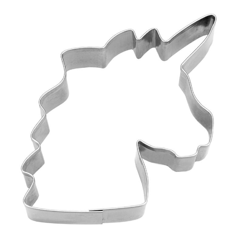 Cortador de cabezas Unicorn 8 cm