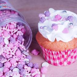 Confettis Sprinkles Princesse Fun Cakes 180g