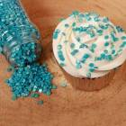 Confettis en sucre Bleu Metallic Fun Cakes 70g