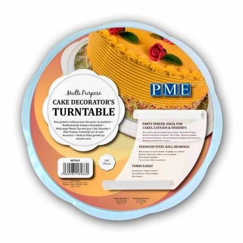 Multi-purpose turntable PME flat - 27cm