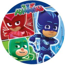 Disco desatado PYJAMASQUES- Héroe azul en grande