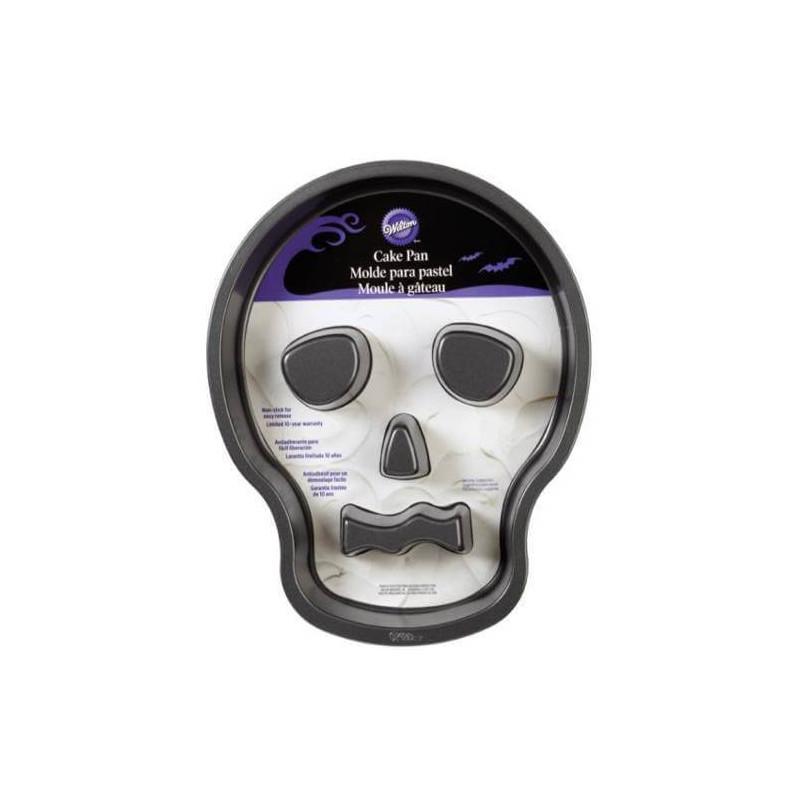 Molde de pastel Wilton cráneo