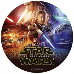 Disque en sucre Star Wars 20 cm