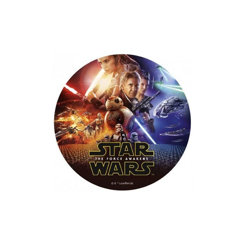 Star Wars sugar disc 20 cm