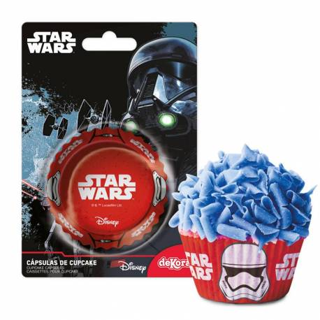 50 STAR WARS Cupcake Boxes