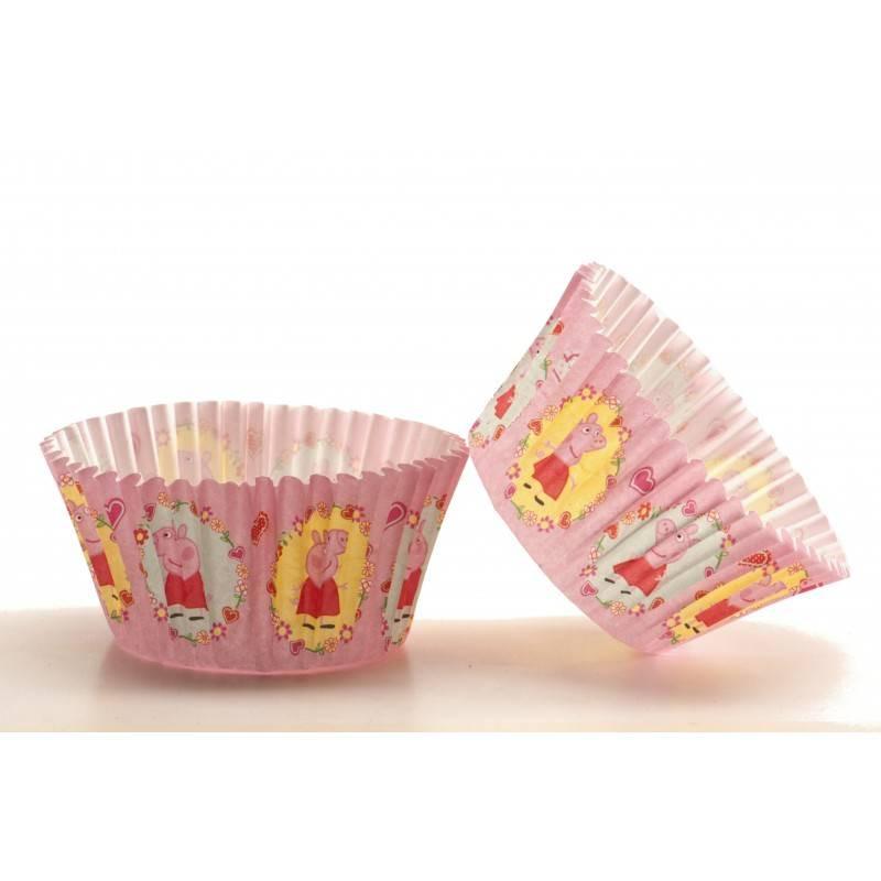 50 Peppa Pig Cupcake Boxes