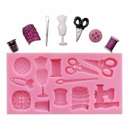 Mold silicone effect knit