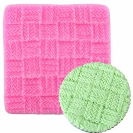 Moule Silicone Effet Texture Tricot