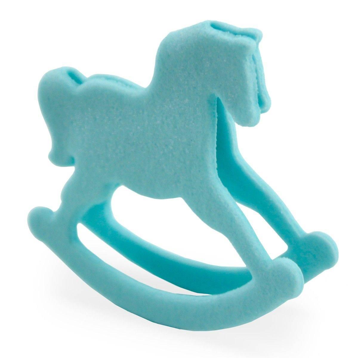 Blue Rocking Horse Sugar Baby Planete Gateau