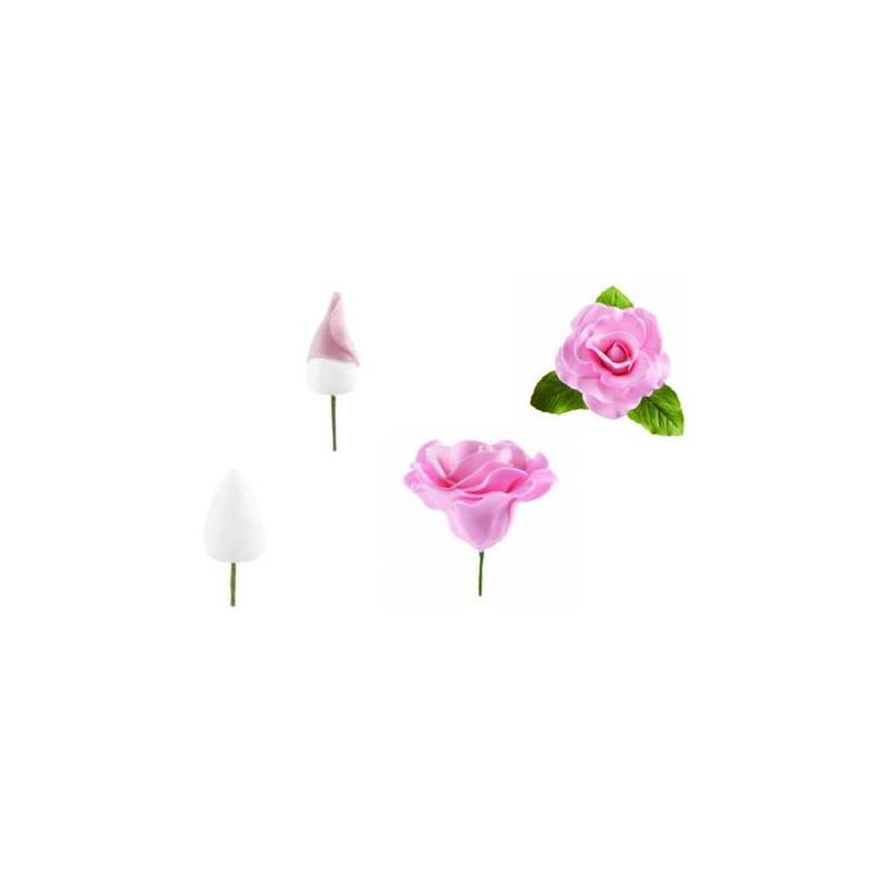 24 Boutons pour fleurs en sucre