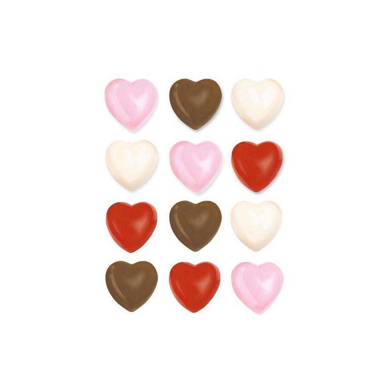 Moule à Chocolat Cœurs 3D Wilton
