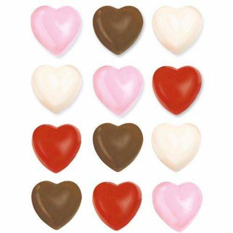 Wilton 3D Heart Chocolate Mould