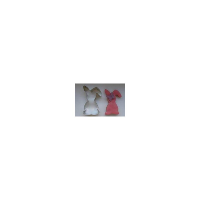 Cut Rabbit standing 6 cm