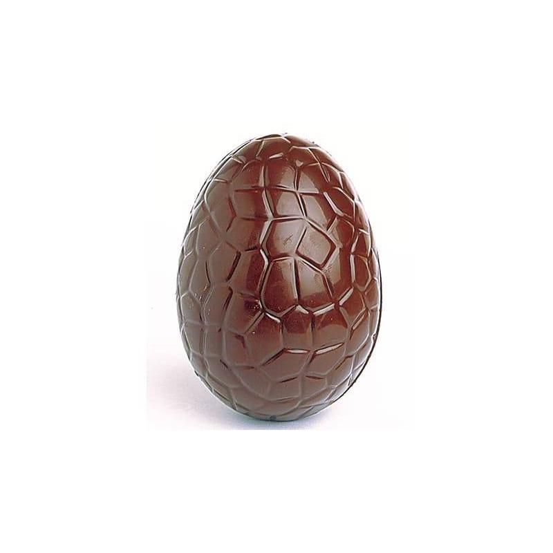 Molde de chocolate 6 huevos de pascua medio rotos