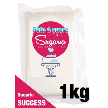 Pâte à sucre SUCCESS de SUGARIA BLANCHE - 1 kg
