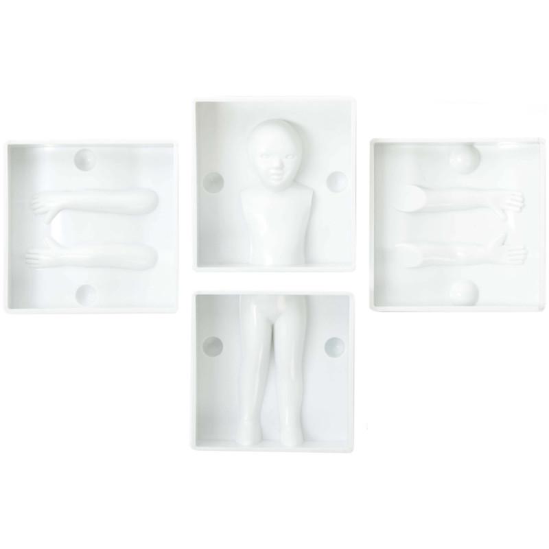 Kit Moule personnage Enfant 3D