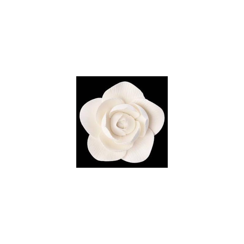 Fleur Camélia BLANCHE 6 cm