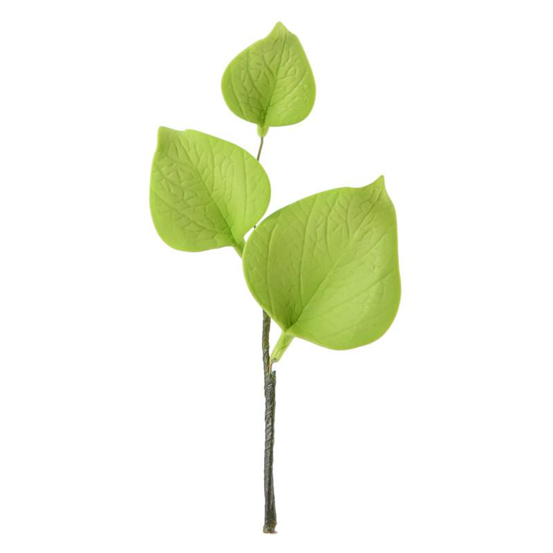 Cherry Leaf Branch 12 cm