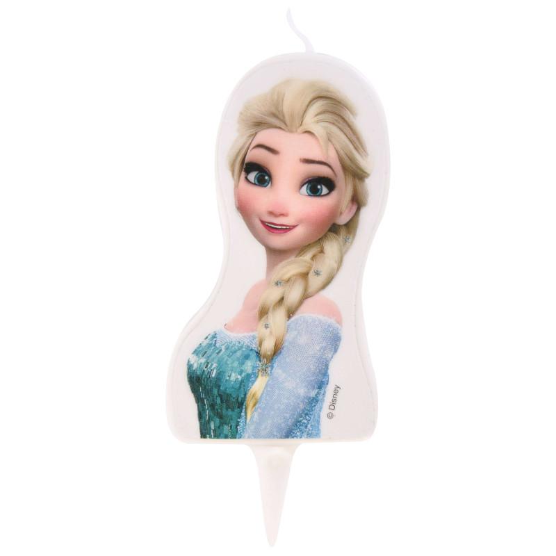 Bougie Elsa La reine des Neiges 2D