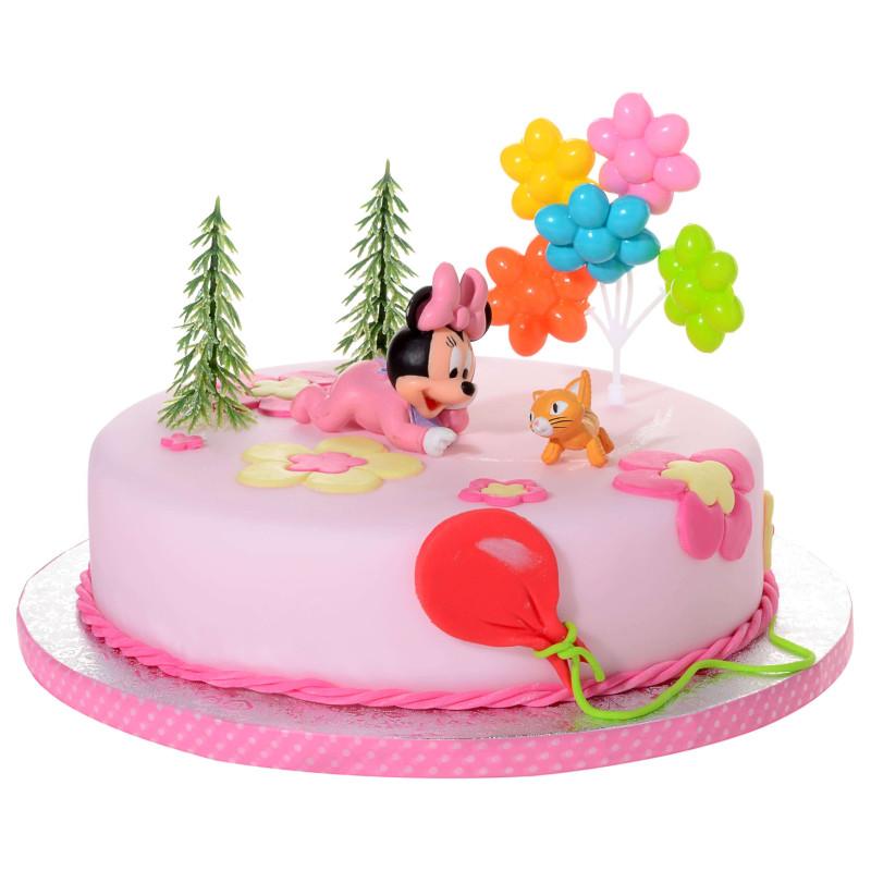Kit Décoration Gâteau Baby Minnie