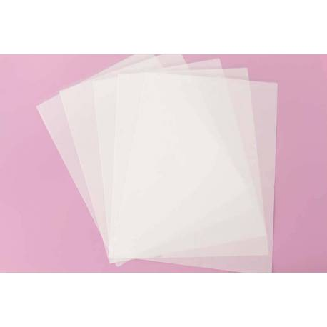 5 Transfer sheets for Meringues, Isomalt and Chocolate