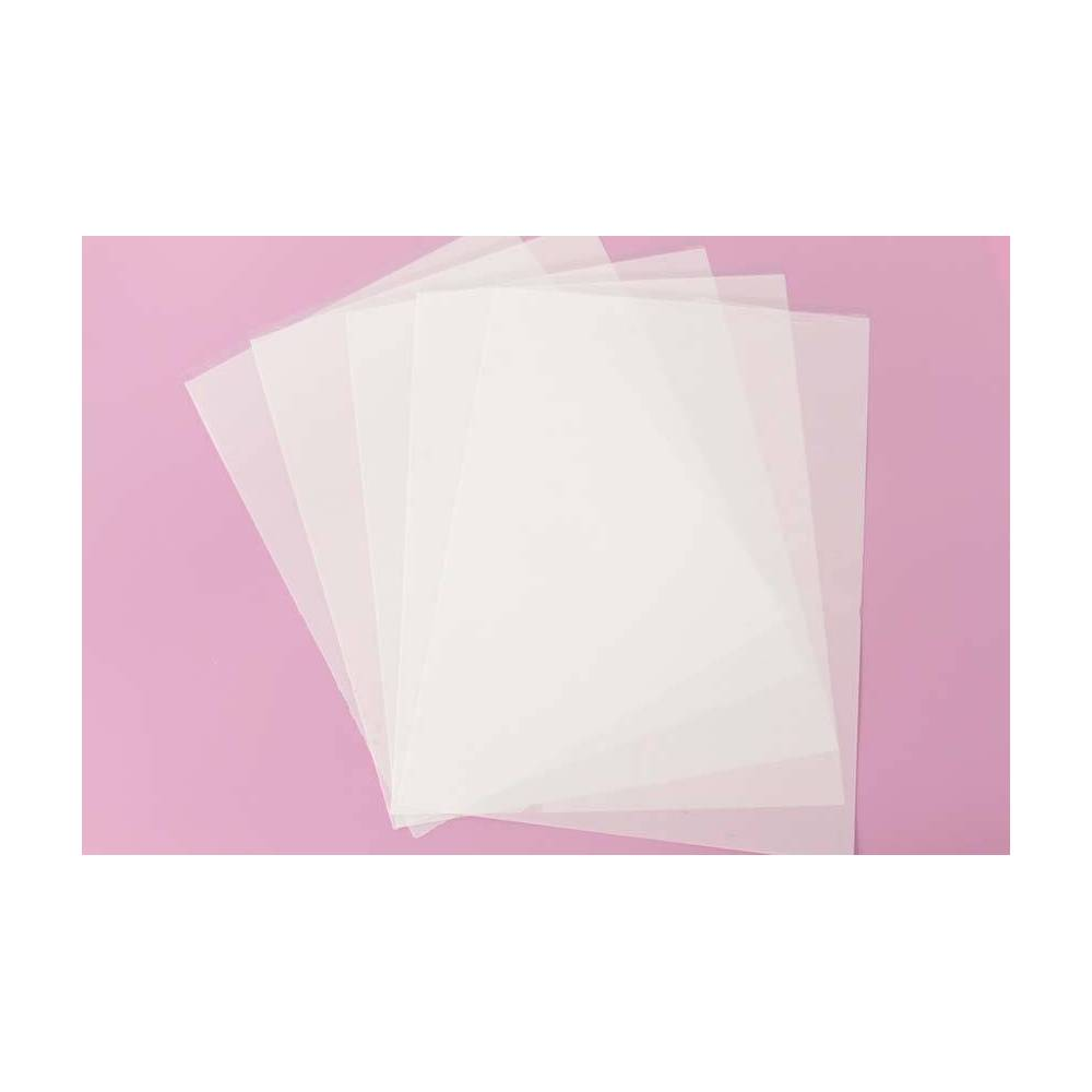 5 Transfer Sheets For Meringues Isomalt And Chocolate