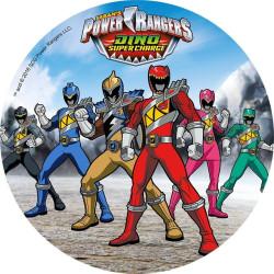 Disque en azyme Power Rangers 6 Personnages