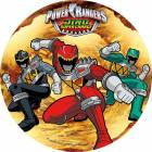Disc in Unleavened Power Rangers 3 beige background characters