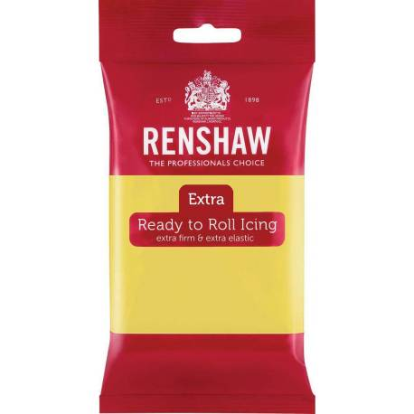 Renshaw EXTRA YELLOW PASTEL Sugar Paste 250g