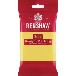 Renshaw EXTRA yellow PASTEL 250g sugar paste