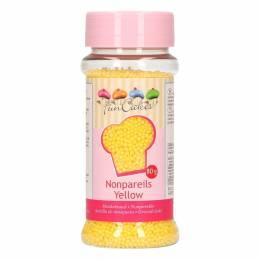 Micro balls in sugar yellow Fun Cakes 80 G