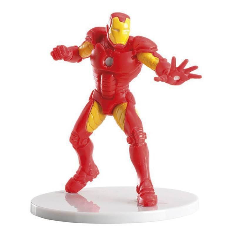 Figurine Iron Man en plastique - 9 cm