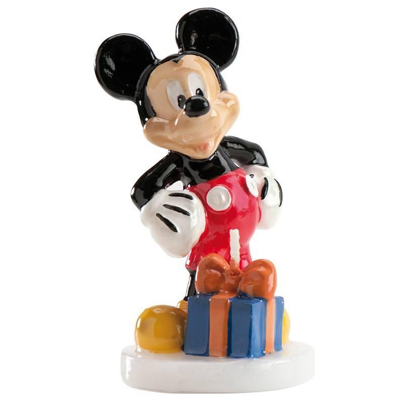 Bougie Mickey cadeaux 3D