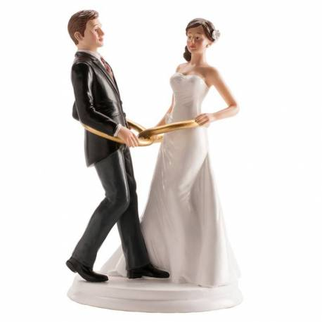 Wedding Topper Couple and Covenants dance 20 cm
