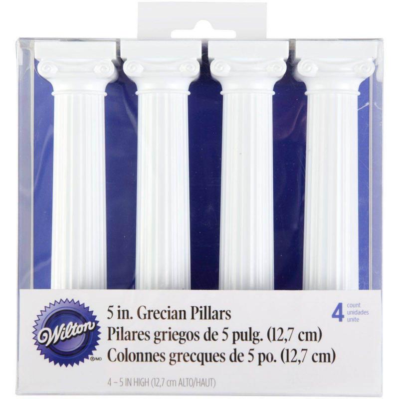 4 Piliers Colonnes Grecques Blanches Wilton