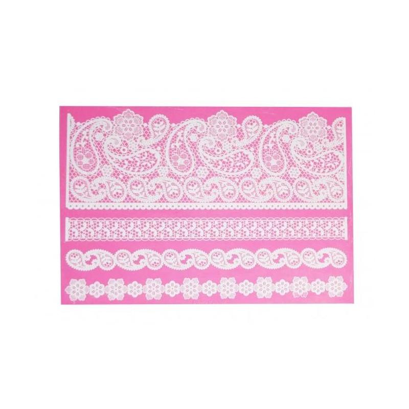 Pretty Paisley Pretty Lace Tapete de encaje para pastel