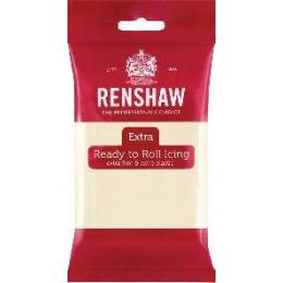Renshaw Extra 250g white chocolate sugar paste