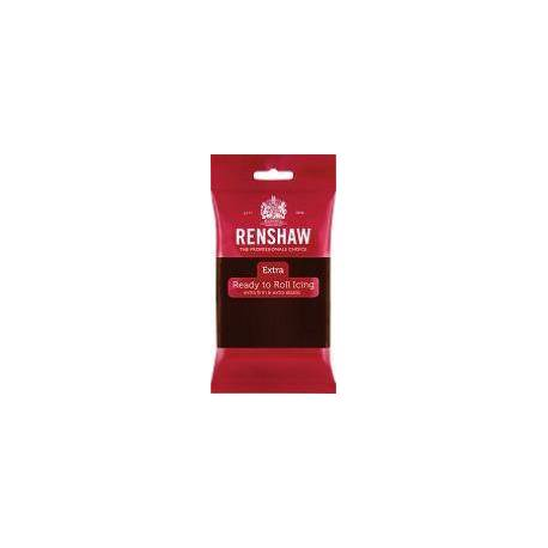 Pâte à sucre Renshaw EXTRA MARRON Chocolat 250g
