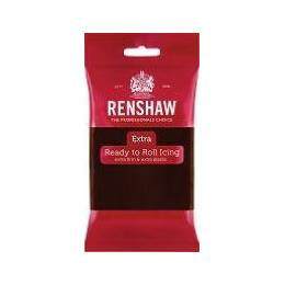 Renshaw EXTRA chocolate 250g brown sugar paste