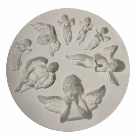 Silicone mold Angels